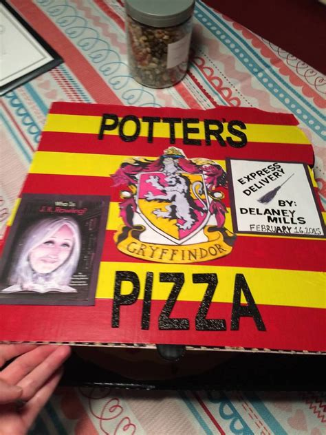 creative biography report ideas j k rowling pizza box biography book report i can be