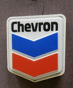 Does Chevron Sell Gift Cards - original chevron lighted sign gas station sign ebay