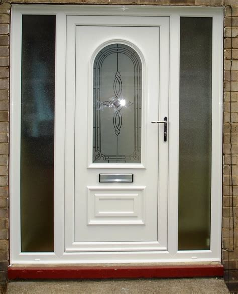 Doors Pictures by Uvpc Doors White Upvc Fully Glazed Front Door