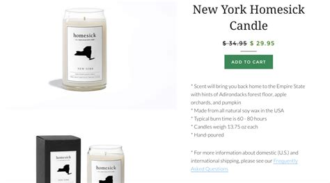 new york homesick candle buzzfeed wants to sell you ohio scented candles and poo