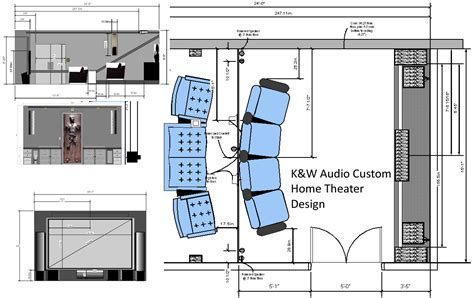 home theater plans home theater room design k w audio