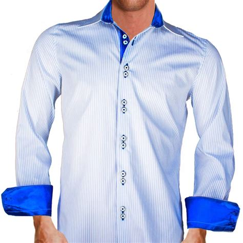 White And Blue Shirt white blue striped shirts