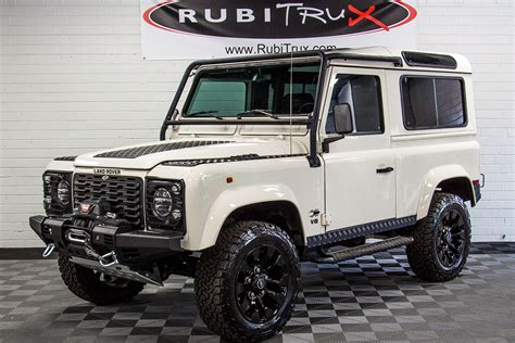 land rover defender white pre owned 1997 land rover defender 90 white