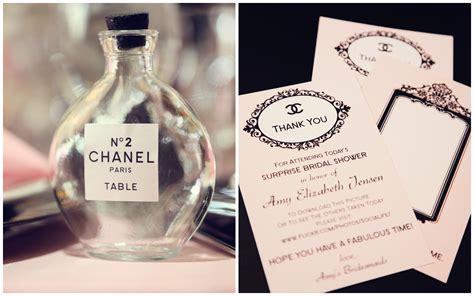 Chanel Bridal Shower by Coco Chanel Inspired Bridal Shower Trueblu Bridesmaid