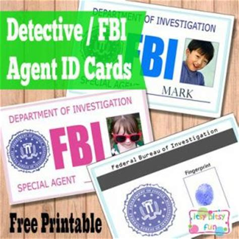 printable spy id cards free printable kids id cards licences itsy bitsy fun