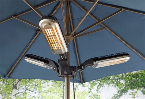 Umbrella Pole Patio Heater The Green Head Umbrella Patio Heater