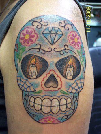 tattoo diamond forehead sugar skull tattoos skull tattoos and sugar skull on