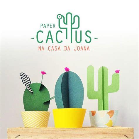 Cactus Papercraft - gimme 5 os produtos de desejo da semana paper