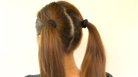 how to do ponytail hairstyles two ponytails short hairstyle 2013