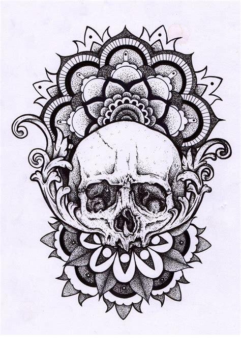 Tattoo Mandala Skull | skull mandala tattoos pinterest