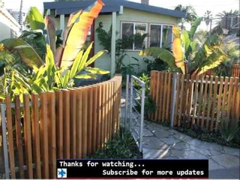 decorative fences for front yards fences designs youtube