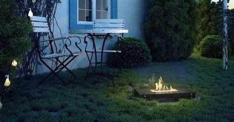 überdachte feuerstelle idee kamin terrasse