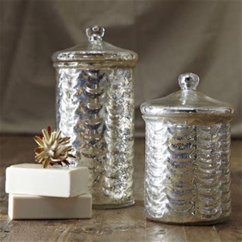 Mercury Glass L West Elm by Westie Garden Mercury Glass Style White Decor