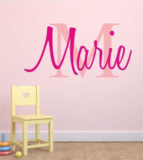 Buchstaben Aufkleber Kinderzimmer by Wandtattoo Wandaufkleber Wandsticker Name Mit Initial