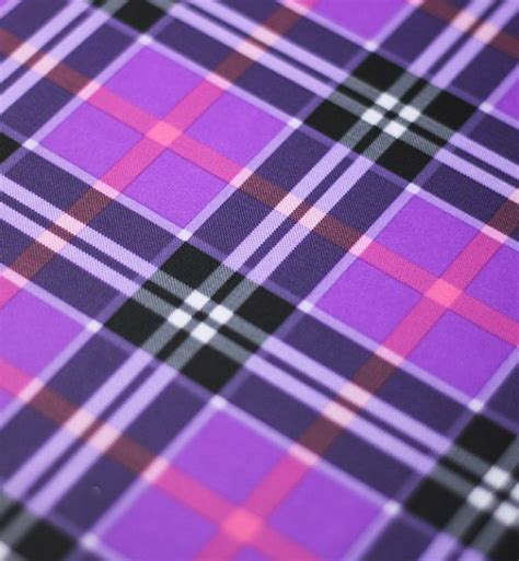purple tartan upholstery fabric spandex fabric purple plaid fabric by the yard stretch