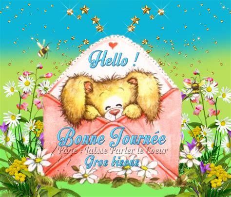 Message De Bonne Humeur by Hello Bonne Journ 233 E Gros Bisous Bonnejournee Lapin