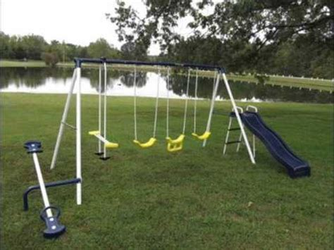 flexible flyer swing flexible flyer swing around fun swing set youtube