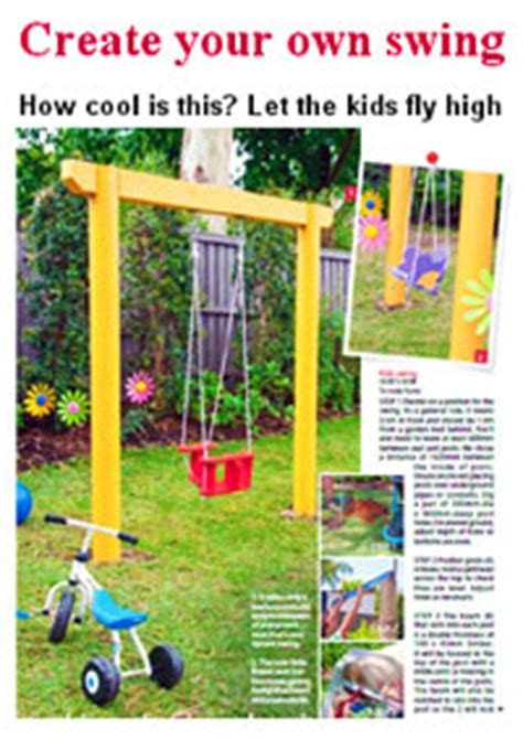 make your own swing 12 free swing set plans how to build a swingset