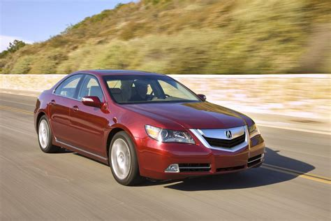 2010 acura rl review top speed