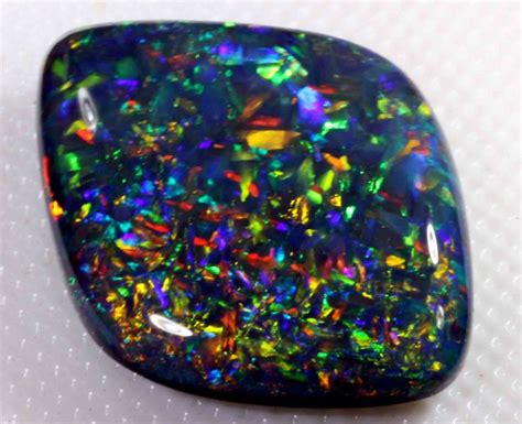 Black Opal 3 11 Ct 11 75 ct gem black opal