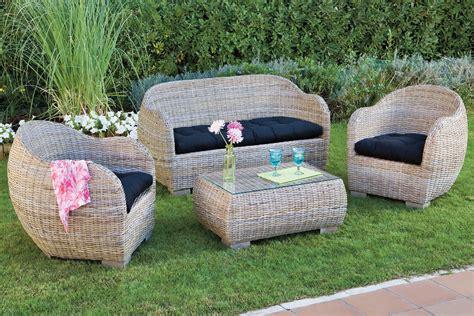 muebles jardin ratan diferencias entre muebles de jard 237 n de ratt 225 n sint 233 tico y