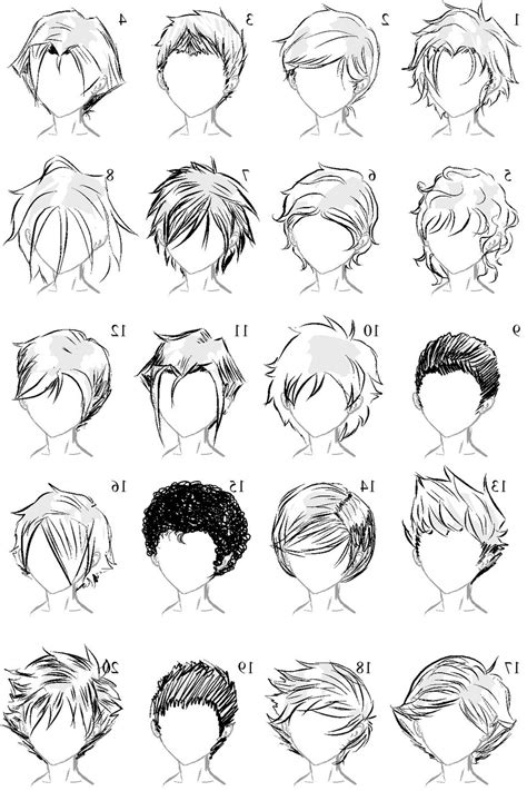 pencil drawing of hair styles of men boy hairstyles drawing hairstyles