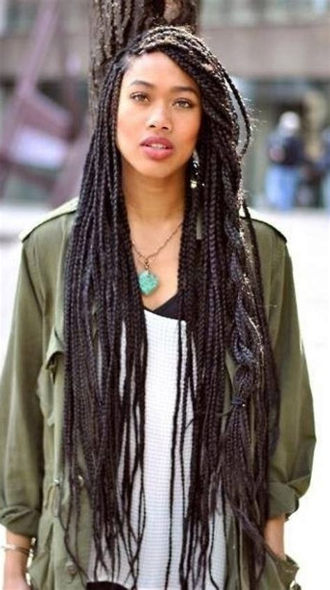 box braids lengths african braid hair styles this ia my kinda hair no