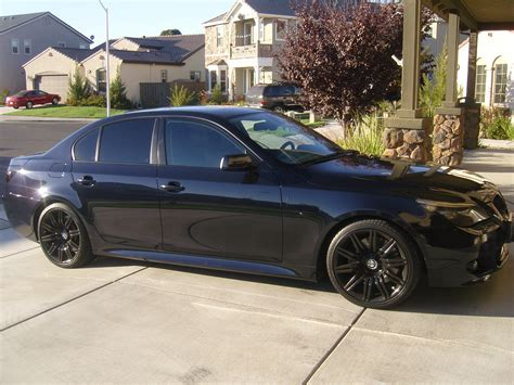 Bmw 550i 2008 by 2008 550i Blacked Out 5series Net Forums