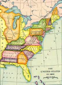 united states map 1800 the united states in 1800 archiving early america