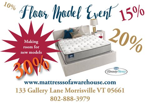 shop our floor model event sale up to 30 mattress