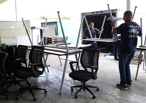 donated office furniture to serve new purpose in jamaica