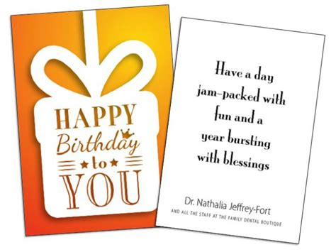 Business Birthday Cards For Clients Birthday Cards For Business Can Improve Customer Retention