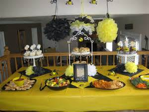 Bumble Bee Themed Baby Shower - blissful bumble bee baby shower a blissful nest