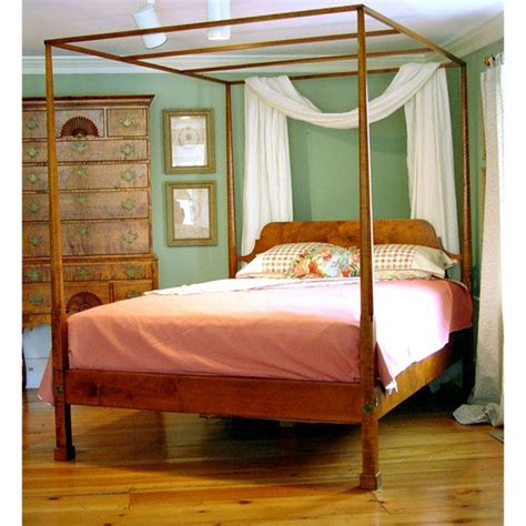 pencil post beds for sale 18th century antique