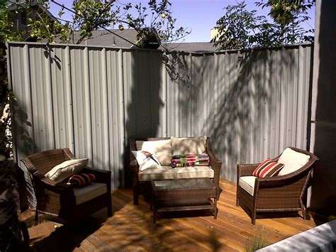 privacy screens for backyards backyard privacy screen contemporary patio los angeles by steelogic