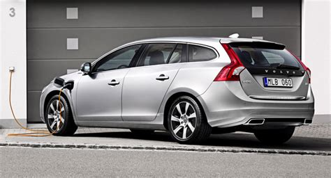 volvo launches new v60 d6 in diesel electric hybrid