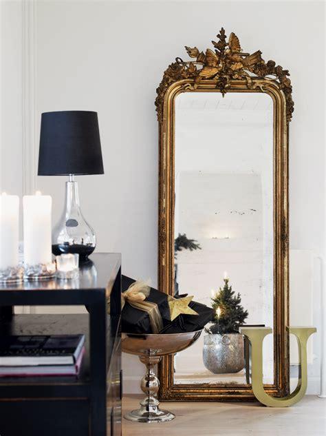 cool idea   big golden mirrors   decor