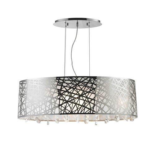 oval drum pendant light oval drum chandelier best home design 2018