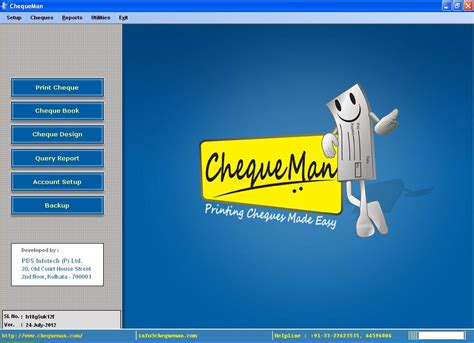 pds bank screenshot review downloads of freeware chequeman