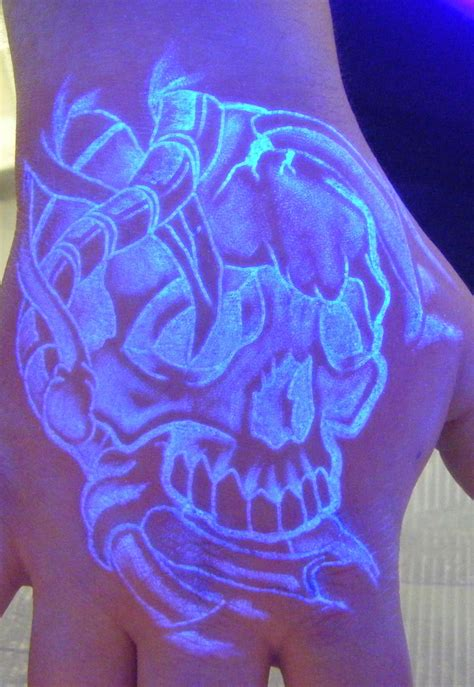 glow in the dark ink tattoo black light tattoos designs ideas and meaning tattoos