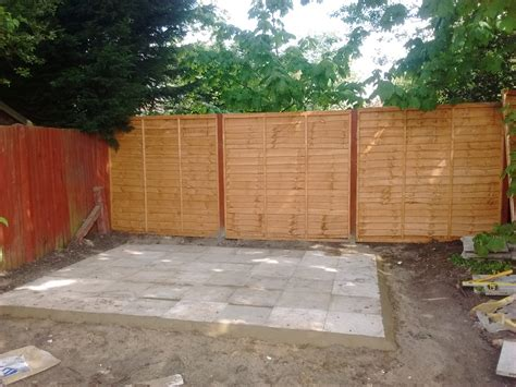 landscaping fencing and shed base gabriel gardening and