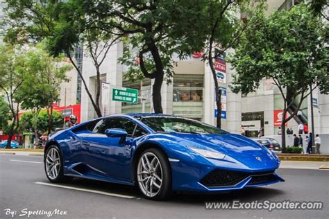 Lamborghini In Mexico Lamborghini Huracan Spotted In Mexico City Mexico On 10