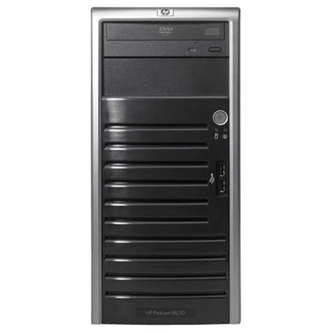 Server Hp Ml110 server hp ml110 g5 intel x3210 2 13ghz 1x1gb 1x250gb nhp hdd dvd rw nic tower server