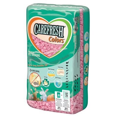 Carefresh Bedding by Carefresh Small Animal Bedding Pink 10 Litre Feedem