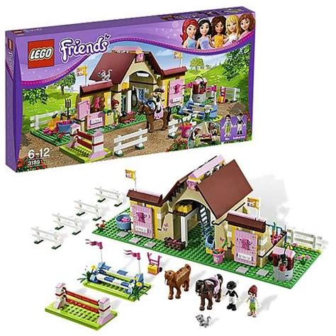 Ready Lego 3189 Friends Heartlake Stables Diskon includes 4 minifigures 2 officers and 2 robbers