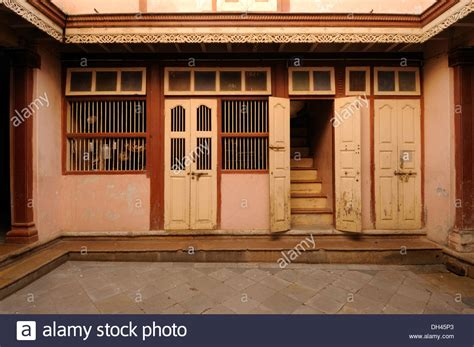 Interior Colors That Sell Homes by Interior Of Indian Village House Gujarat India Stock Photo