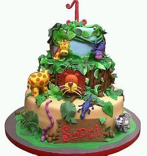 tortas en decoracion en safari m 225 s de 25 ideas fant 225 sticas sobre tortas de animales en