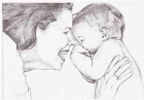 imagenes a lapiz para una madre dibujo de una madre e hijo gatitakaoru mi web