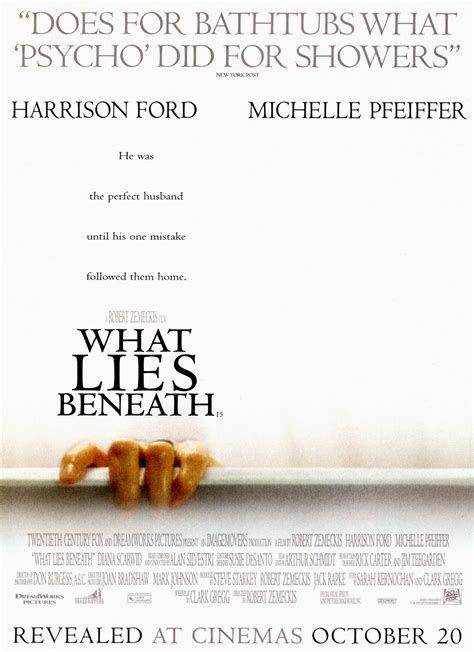 What Lies Beneath by Posters What Lies Beneath 2000
