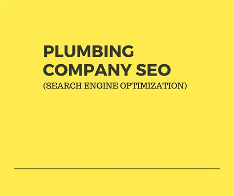 Search Engine Company by Plumber Seo Search Engine Optimization For Plumbing